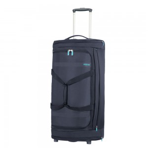 American Tourister Herolite Duffle Wheels 79 Midnight Blue