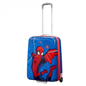 American Tourister Disney New Wonder Junior Marvel Upright 55 Spiderman Web