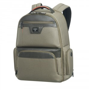 "Samsonite Zenith Laptop Backpack 15.6"" Taupe"