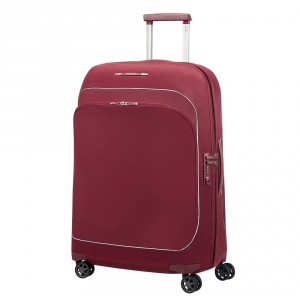 Samsonite Fuze Spinner 68 Expandable Cabernet Red