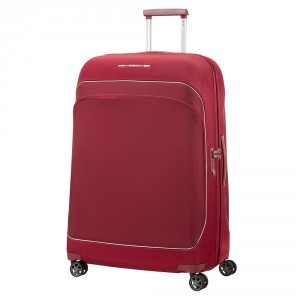 Samsonite Fuze Spinner 76 Expandable Cabernet Red