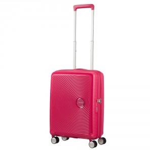American Tourister Soundbox Spinner 55 Exp. Lightning Pink