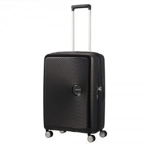 American Tourister Soundbox Spinner 67 Exp. Bass Black