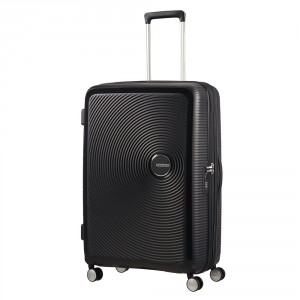 American Tourister Soundbox Spinner 77 Exp. Bass Black
