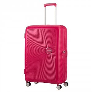 American Tourister Soundbox Spinner 77 Exp. Lightning Pink
