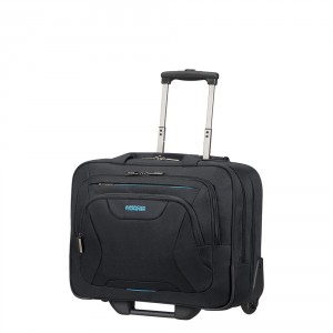 """American Tourister AT Work Rolling Tote 15.6"""" Black"""