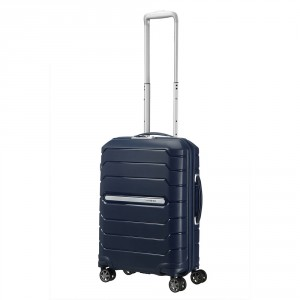 Samsonite Flux Spinner 55 Expandable Navy Blue