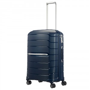 Samsonite Flux Spinner 68 Expandable Navy Blue
