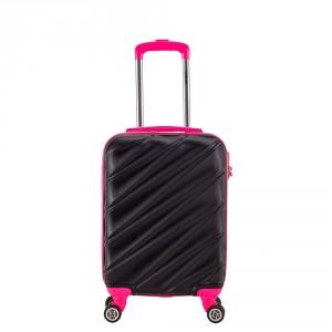 Decent Lumi Fix Handbagage Koffer 55 Black/Pink