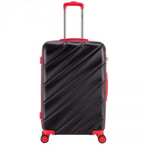 Decent Lumi Fix Spinner Koffer 77 Black/Red