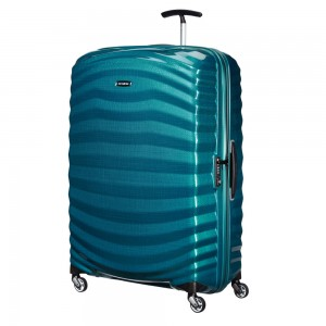 Samsonite Lite-Shock Spinner 81 Petrol Blue