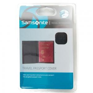 Samsonite Travel Accessoires Paspoorthoesje Black