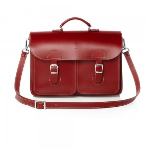 OldSchool Bags Schooltas Extra Large Klassiek Rood