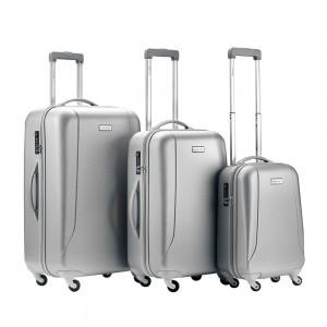 CarryOn Skyhopper 3-Delige Kofferset Zilver/Grijs