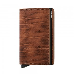 Secrid Slim Wallet Portemonnee Dutch Martin Whiskey