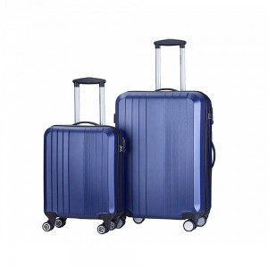 Decent Tobi 2-Delige Kofferset Donker Blauw