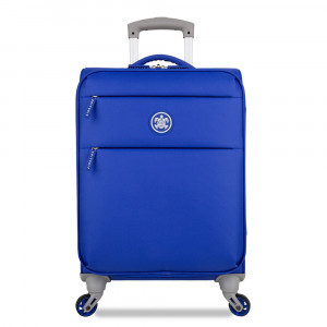 SuitSuit Caretta Soft Handbagage Spinner Dazzling Blue