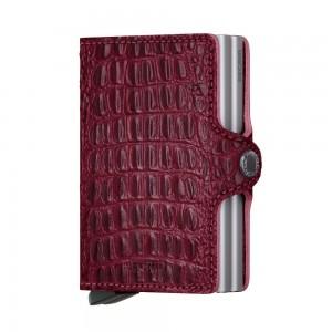 Secrid Twin Wallet Portemonnee Nile Red