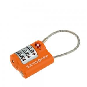 Samsonite Travel Accessoires TSA Kabelslot Orange