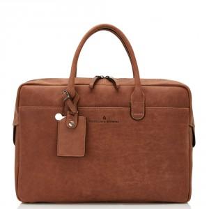 Castelijn & Beerens Carisma Laptoptas 15.6'' Cognac 9478