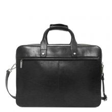 "Claudio Ferrici Legacy Business Briefcase 15.6"" Black"