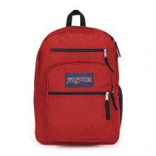 """JanSport Big Student Backpack 15"""" Red Tape"""