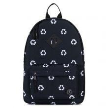 Parkland Bayside Kids Backpack Recycle Black