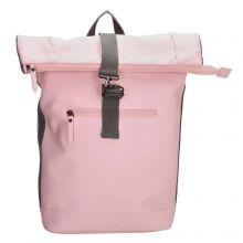 Charm London Neville Waterproof Roll Top Backpack Pink