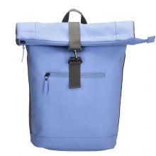 Charm London Neville Waterproof Roll Top Backpack Light Blue
