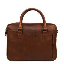 "DSTRCT Premium Collection Laptopbag 14"" Cognac"
