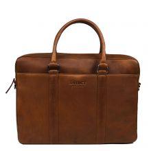 "DSTRCT Premium Collection Laptopbag 15.6"" Cognac"