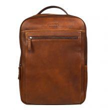 "DSTRCT Premium Collection Laptop Backpack 15.6"" Cognac"