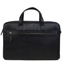 "DSTRCT Premium Collection Laptopbag 17"" Black"