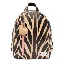 Zebra Trends Canvas Kindertas Flower Hart Rood