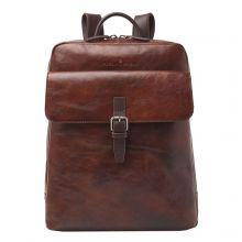 """Castelijn & Beerens Rien Laptop Rugzak 15.6"""" Tablet RFID Cognac"""