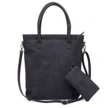 Zebra Trends Natural Bag Vilt Shopper Beige
