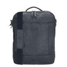 "Enrico Benetti Nikki Backpack WIth Shoulder Strap 15"" Blauw"