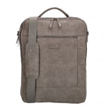 "Enrico Benetti Nikki Backpack WIth Shoulder Strap 15"" Middengrijs"