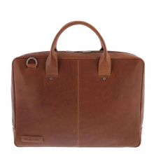 Plevier 724-3 Laptoptas Cognac