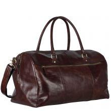 Leonhard Heyden Boston Travel Bag 7312 Brown