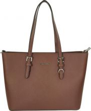 Flora & Co Shoulder Bag Saffiano Marron Brown