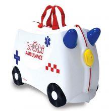 Trunki Ride-On Kinderkoffer Ambulance Abbie