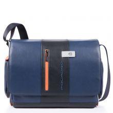 Piquadro Urban Computer Messenger Blue/Grey