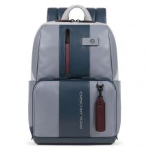 Piquadro Urban Computer Backpack 14'' Grey/ Bordeaux