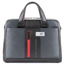 Piquadro Urban Slim Portfolio Computer Briefcase 14'' Grey/Black
