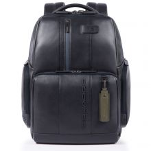 Piquadro Urban Fast Check PC Backpack 15.6'' Dark Blue