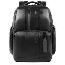 Piquadro Urban Fast Check PC Backpack 15.6'' Black