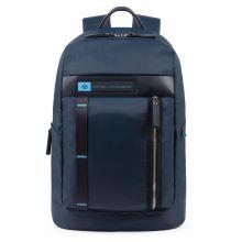"Piquadro PQ-BIO Nylon Computer Backpack 15.6"" Blue"