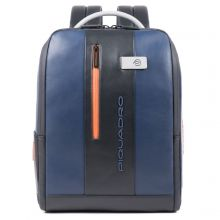 Piquadro Urban PC And iPad Cable Backpack 15.6'' Blue/ Gray