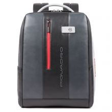 Piquadro Urban PC And iPad Cable Backpack 15.6'' Gray/ Black